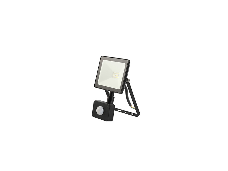 10W PIR sensor outdoor slim led floodlight IP65 FLAT