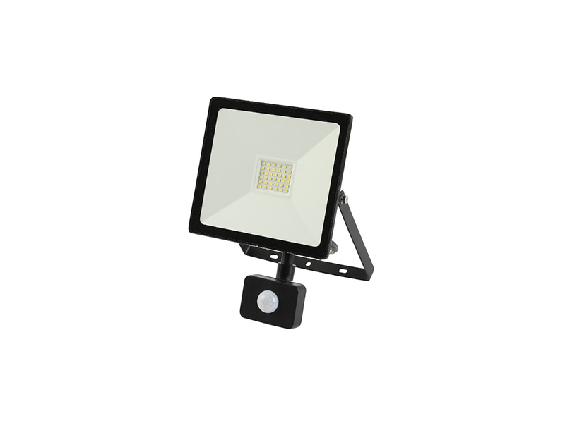 30W PIR sensor outdoor slim led floodlight IP65 FLAT