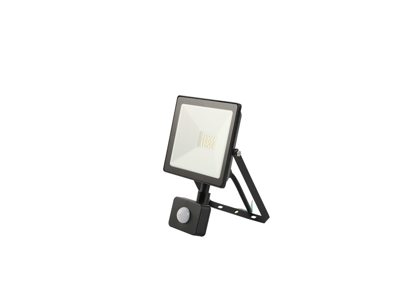 20W PIR sensor outdoor slim led floodlight IP65 FLAT