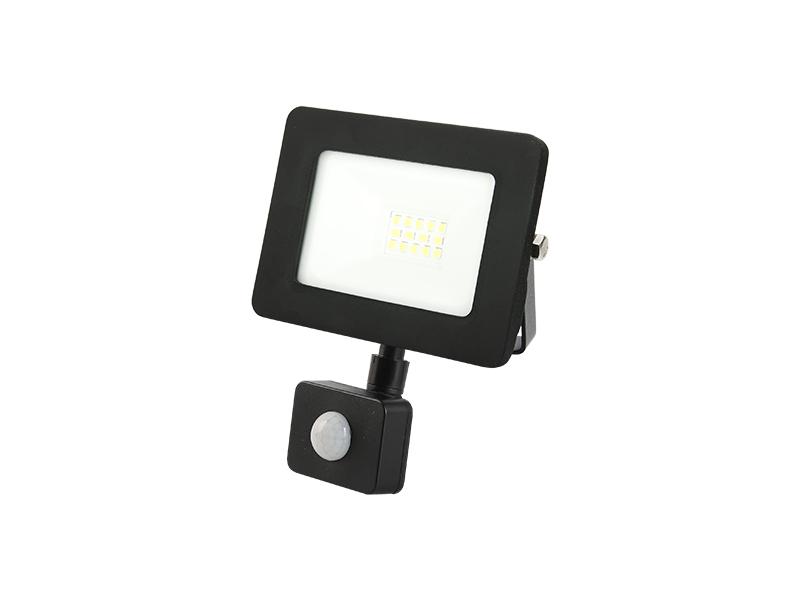 70W PIR sensor outdoor slim led floodlight IP65 with frame