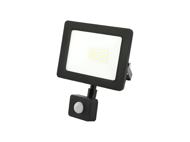 20W PIR sensor outdoor slim led floodlight IP65 with frame